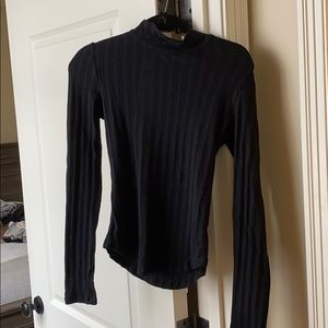 Sweater with back detail